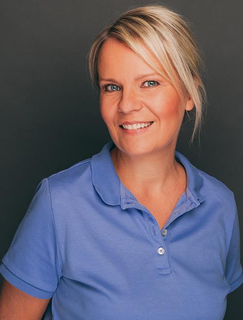 Zahnarzthelferin Grit Nagel aus der Zahnarztpraxis Nagel in Themar