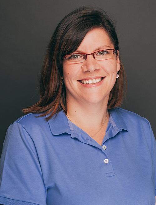Zahnarzthelferin Judith Hierse aus der Zahnarztpraxis Nagel in Themar