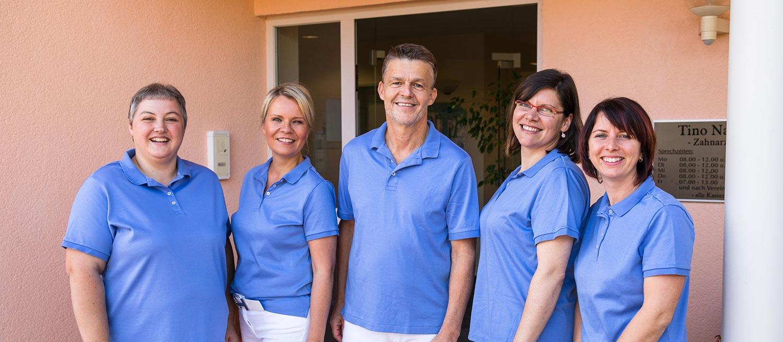 Das Team der Zahnarztpraxis Nagel in Themar